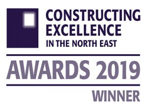 Constructing Excellence in the North East Award Win 2019