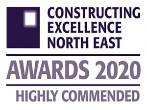Constructing Excellence North East Awards 2020 Highly Commended