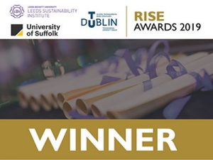 RISE Awards 2019 Winners Logo
