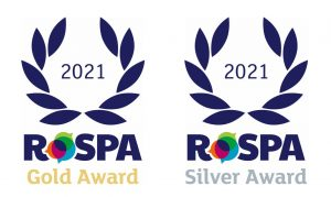 Rospa Awards Gold and Silver
