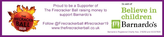 Supporter of The Firecracker Ball raising money