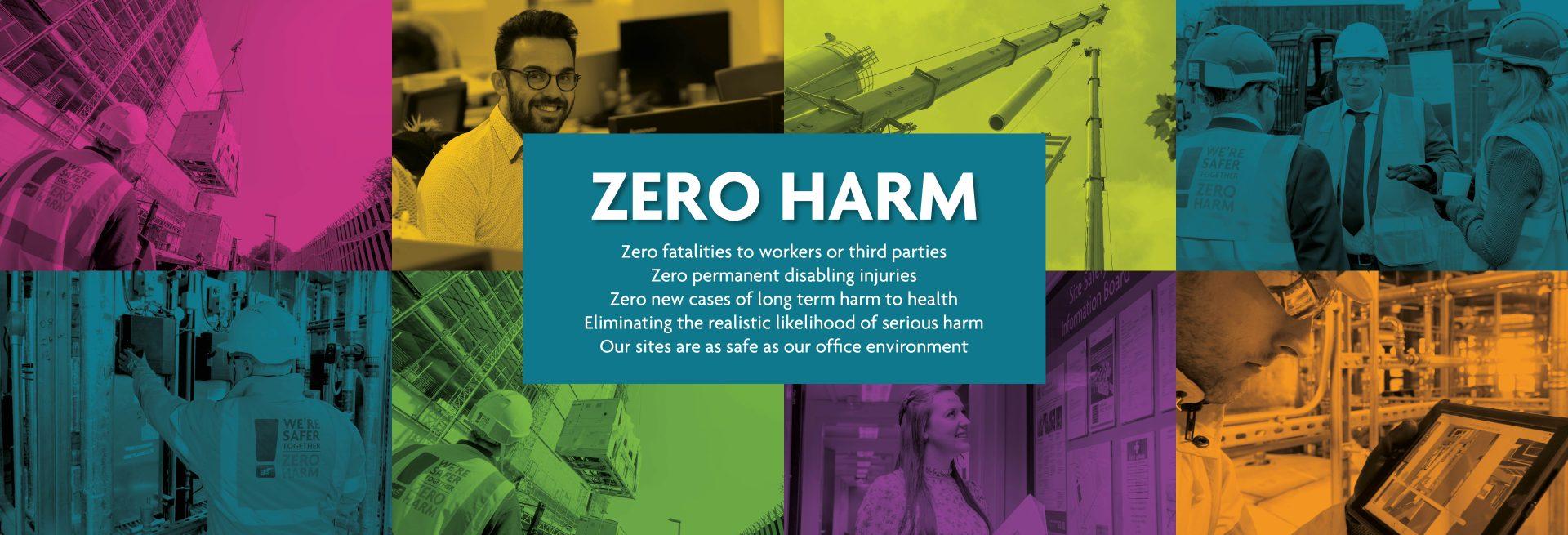 Zero Harm Header Image